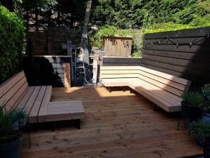 douglas loungebank balken balkbrug