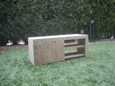 tv-meubel steigerhout steigerhouten