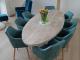 ovale tafel van steigerhout